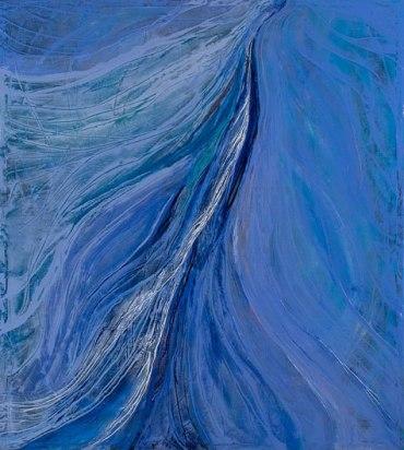 Blue Energy Field by Teresa Wicksteed