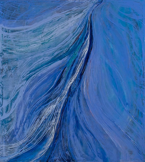 Blue Energy Field by Teresa Wicksteed